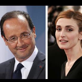 Франсоа Оланд и Жули Гайе