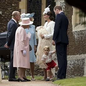 Кръщенето на принцеса Шарлот