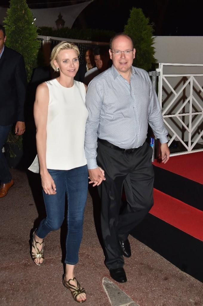 Принц Албер и принцеса Шарлийн