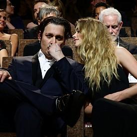"""Амбър Хард и Джони Деп на премиерата на """"Черна маса"""""""