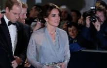 Катрин на премиерата на филма за Джеймс Бонд