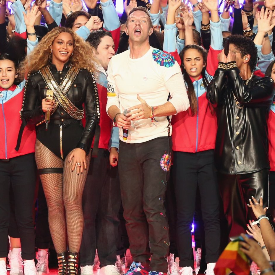 Бионсе, Coldplay и Бруно Марс