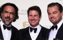 Том с Леонардо Ди Каприо и Алехандро Иняриту