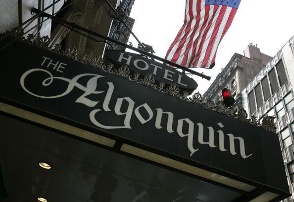 Хотели с история: Algonqiun в Ню Йорк