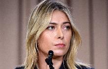 Мария Шарапова на пресконференцията