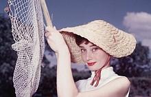 Одри Хепбърн, началото на 50-те години на миналия век.