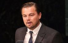 Леонардо на конференция за климатичните промени