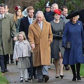 Британското кралско семейство навръх Коледа