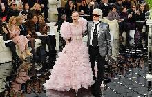 Бонбонен период в колекция висша мода пролет/лято 2017 Chanel в Париж