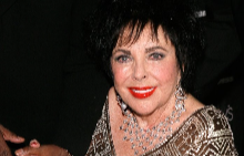 Елизабет Тейлър през 2007 г.
