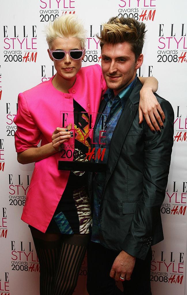 Хенри Холанд и Агнес Дейн на ELLE Style Awards 2009