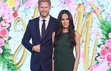 Восъчните фигури на Меган Маръл и принц Хари