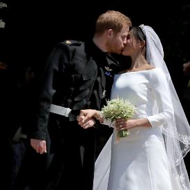 Givenchy сподели всички подробности за сватбената рокля на Меган Маркъл
