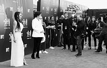 Ким Кардашян и Крис Дженър на червения килим