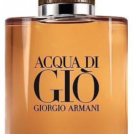 Acqua Di Gio Absolu на GIORGIO ARMANI показва с аромата си мъжествената връзка между водата и дървото. Уханието е истинска алхимия от природни съставки и сложни технически елементи, като резултатът е свежа вълна от морски нотки и пачули.