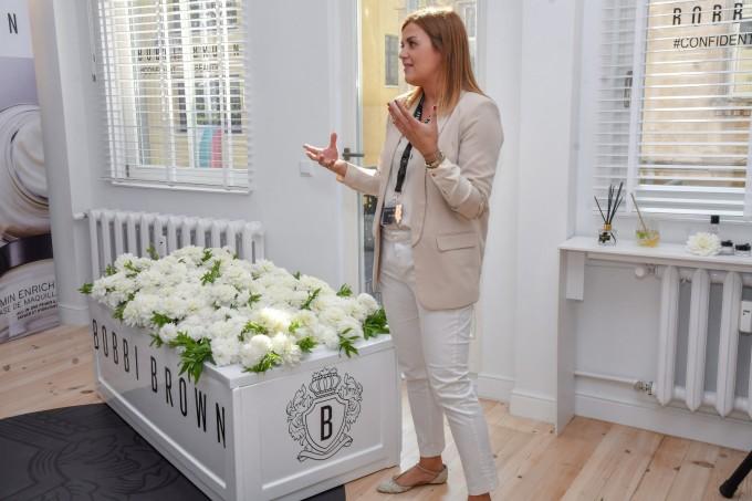 Мариана Коутелоу, маркетинг мениджър на Bobbi Brown за Балканите