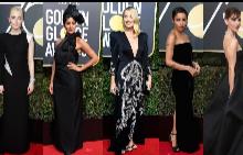 Дрес код ЧЕРНО: Наградите Златен Глобус 2018