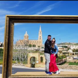 Поли и Андон в Гозо, Малта