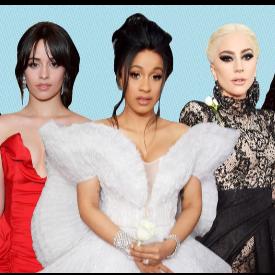 По червения килим на Grammy 2018