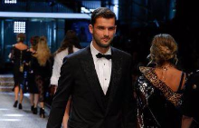 Григор дефилира за Dolce & Gabbana