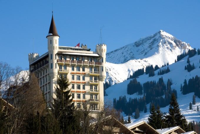 Любимият хотел на Валентино - Gstaad Palace Hotel