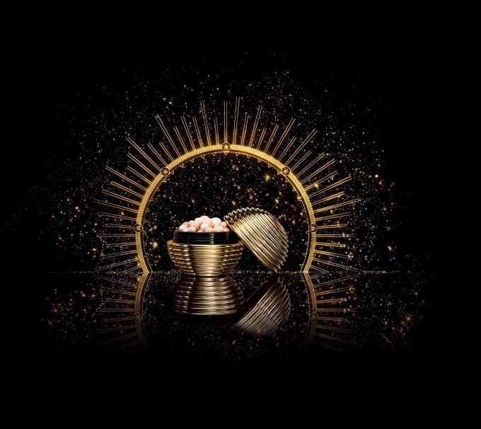 Златните перли: истинско бижу! Като златна топка от...