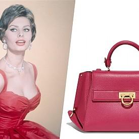 Бранд: Salvatore Ferragamo / Име: The Sofia Bag / Цена: От ,750