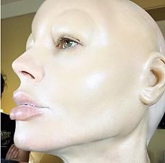 Преобразяването на Хайди Клум в Jessica Rabbit