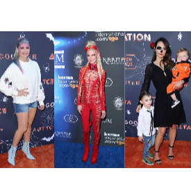 Холивудските звезди - готови за Хелоуин