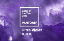УЛТРАВИОЛЕТОВ - цветът на 2018 година