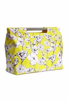 Чанта от плат с флорални мотиви H&M, 69.90 лв.