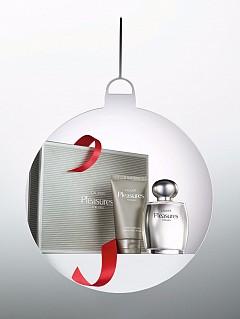 Комплект за мъже Pleasure for Men на ESTEE LAUDER  - парфюм Cologne Spray 100 мл + балсам за след бръснене 75 мл, 129 лв.