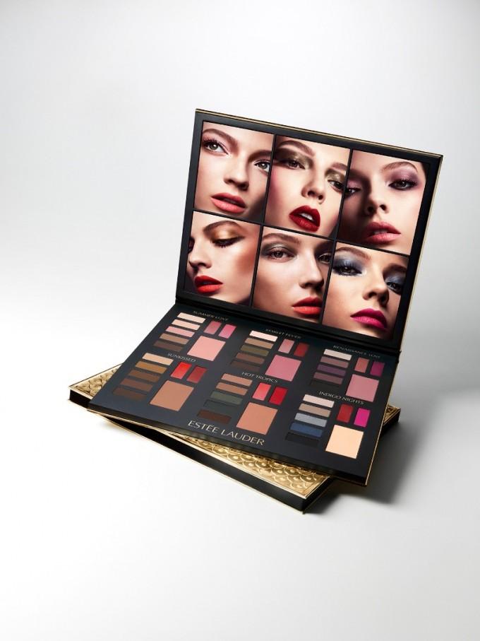 Коледната палитра на Estee Lauder предлага 48 цвята и 4...