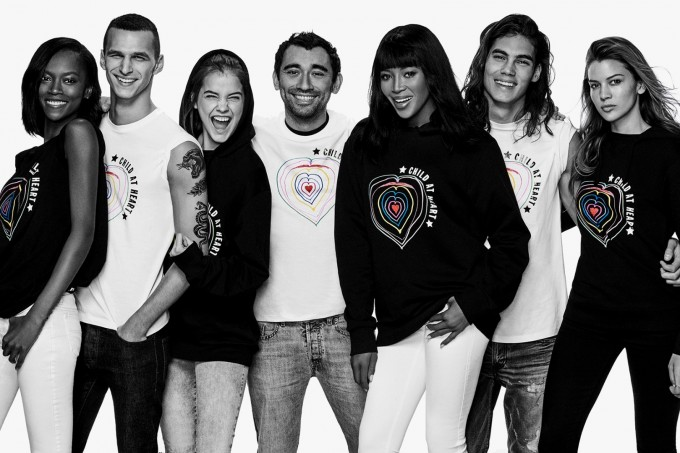 Топ моделът Наоми Кембъл и Diesel обединиха сили в подкрепа на децата бежанци