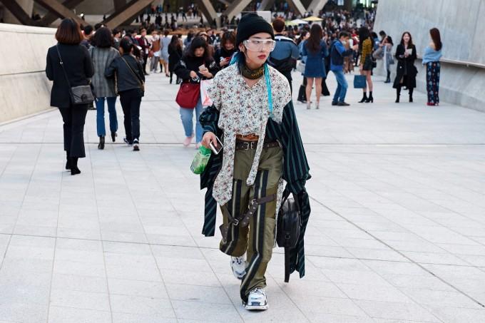 20 вдъхновяващи street style визии от Seoul Fashion Week