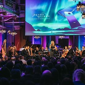"""Водеща на събитието в зала """"Брамс"""" бе австрийката Ина Забицер"""