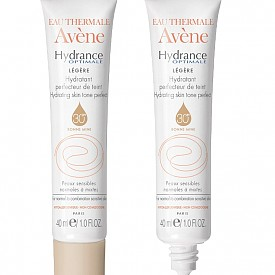 Хидратант за перфектен тен за чувствителна кожа Hidrance Optimale на Avene