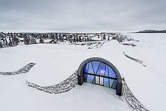 Целогодишен леден хотел Icehotel 365