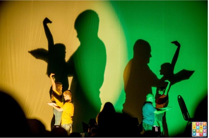 С кауза: театрално представление от незрязщи актьори