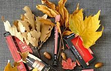 Съкровища от есента и от Smashbox! Всяка от опаковките крие върху себе си съвети и идеи директно от студиото за това, как могат да се нанасят и съчетават продуктите.