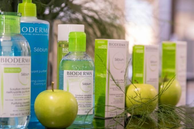 Серията Sebium на Bioderma е преднзазначена за мазна и комбинирана кожа с акне