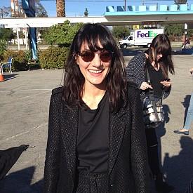 За сесията на ELLE с Кристен работи и Лучия Пика, новият главен гримьор на Chanel