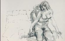 Една от непоказваните досега творби от тайните папки на големия художник Стоян Венев
