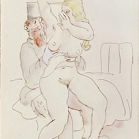 Непоказвани еротични акварели от тайните папки Стоян Венев