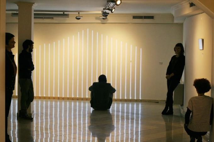 Инсталацията на Валентина Шара  - Профилът на Витоша