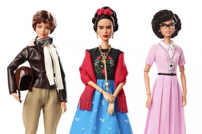 Барби създаде 17 кукли, посветени на вдъхновяващи жени