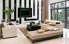 Черно и бяло в интериора