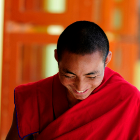 Любовта през очите на будистки монах