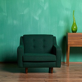 Винтидж мебели  Не е нужно всички мебели да са ретро, достатъчно е само един стол или един фотьойл. Той ще дадат достатъчно винтидж нюанс на целия интериор.