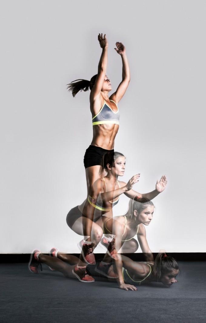 БЪРПИИ   Това упражнение е ефективно за цялото тяло,...